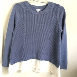 Croft & Barrow Dbl Layer Knit Sweater XXL